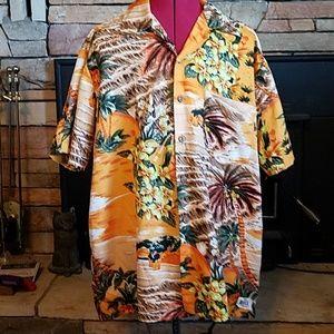 5a95d5d0 VINTAGE Kennington California Hawaiian Shirt sz L